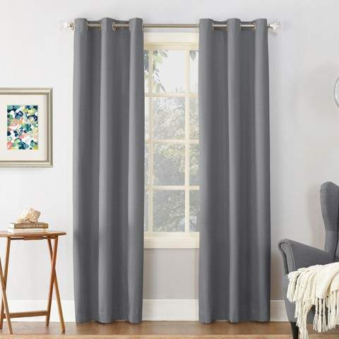 Thermal Insulated Curtains – Shopstyle In Duran Thermal Insulated Blackout Grommet Curtain Panels (Image 20 of 25)