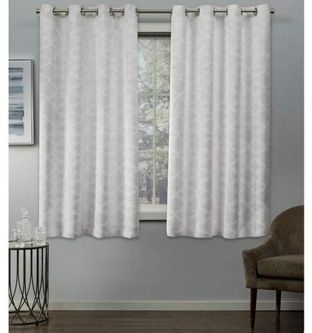 Thermal Insulated Curtains – Shopstyle With Duran Thermal Insulated Blackout Grommet Curtain Panels (Image 22 of 25)