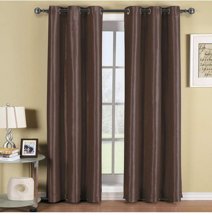 Thermal Insulated Curtains – Shopstyle Within Duran Thermal Insulated Blackout Grommet Curtain Panels (Image 23 of 25)