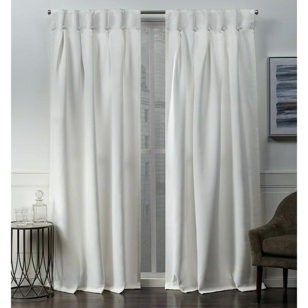 Top Window Curtains – Sawazaki In Woven Blackout Grommet Top Curtain Panel Pairs (Image 23 of 25)