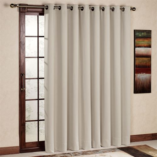 Ultimate Blackout Grommet Patio Panel With Davis Patio Grommet Top Single Curtain Panels (Image 23 of 25)