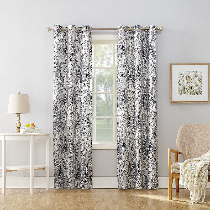 Valerie Wallace Grommet Top Curtain Panel | Products With Softline Trenton Grommet Top Curtain Panels (Photo 25 of 25)