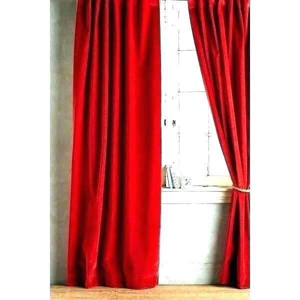 Velvet Curtain Panels – Sincelejonoticias.co With Regard To Knotted Tab Top Window Curtain Panel Pairs (Photo 15 of 25)