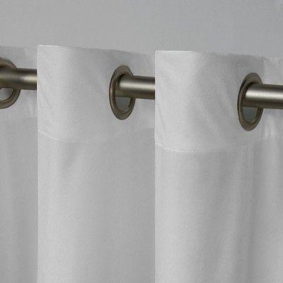 Velvet Heavyweight Grommet Top Window Curtain Panel Pair With Regard To Velvet Heavyweight Grommet Top Curtain Panel Pairs (Image 24 of 25)