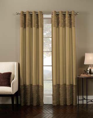 Venetian Velvet Luxury Curtain Panel / Curtainworks Intended For Luxury Collection Venetian Sheer Curtain Panel Pairs (Photo 16 of 25)