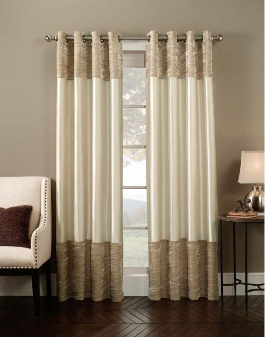 Venetian Velvet Luxury Curtain Panel  Home And Garden Design Inside Luxury Collection Venetian Sheer Curtain Panel Pairs (Photo 20 of 25)