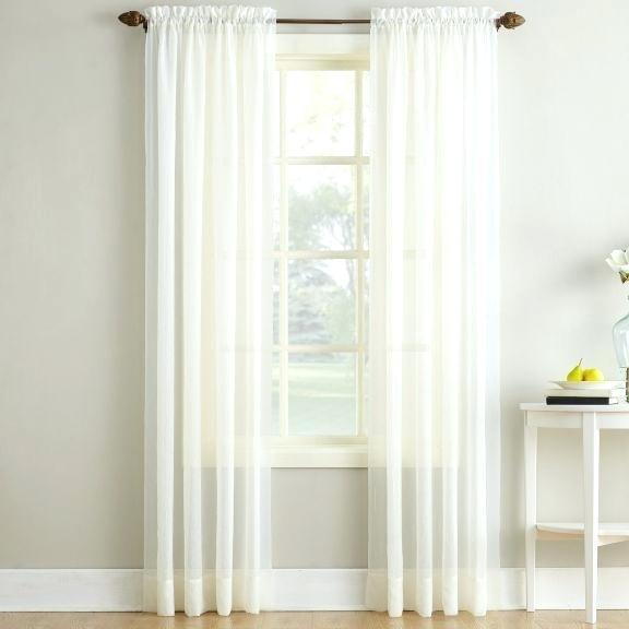 Voile Curtain Panel – Luketucker.co For Emily Sheer Voile Single Curtain Panels (Photo 5 of 25)