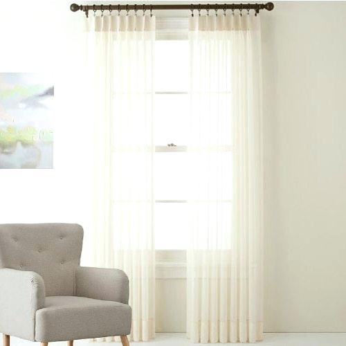 Voile Sheer Curtains – Markberge.co For Elowen White Twist Tab Voile Sheer Curtain Panel Pairs (Photo 11 of 26)