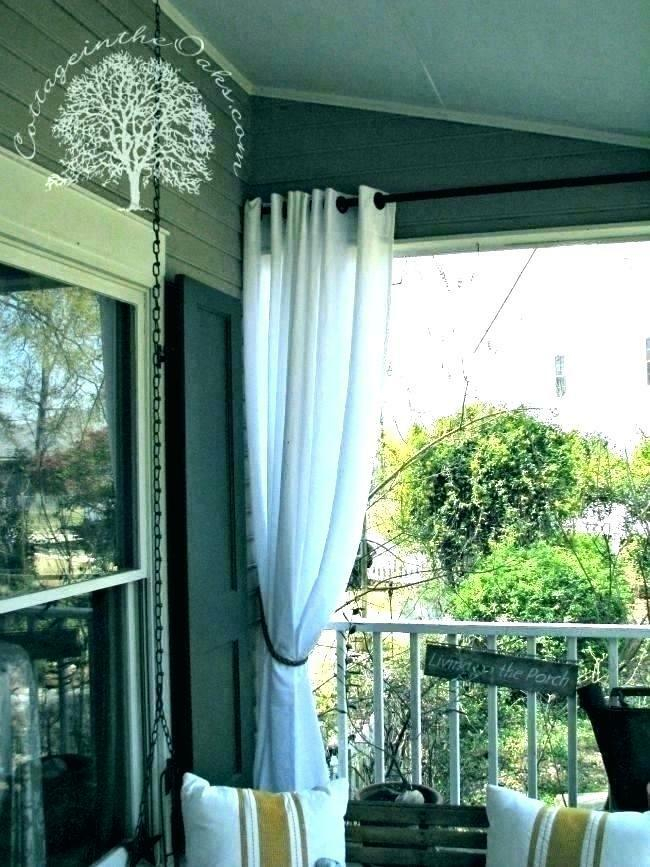 Waterproof Outdoor Curtains – Avalon Master (Image 25 of 25)