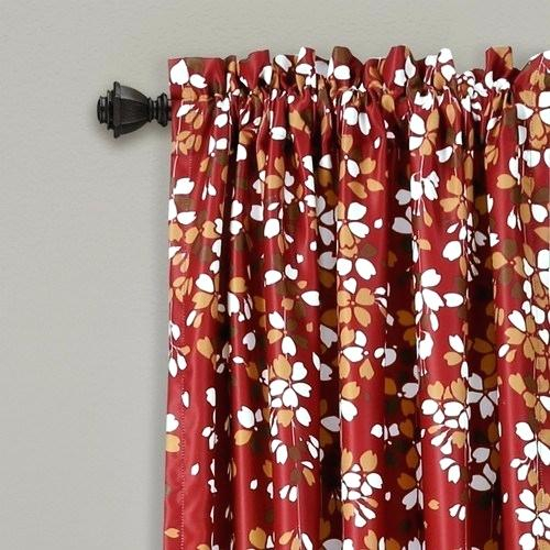 Weeping Flowers Curtains – Delfine (Image 25 of 25)