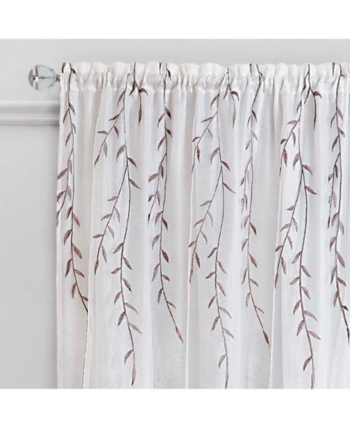 Willow Rod Pocket Window Curtain Panel, 42X63 In 2019 With Regard To Willow Rod Pocket Window Curtain Panels (View 9 of 25)
