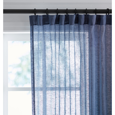 Window Curtains & Drapes | Rejuvenation Within Linen Button Window Curtains Single Panel (View 6 of 25)