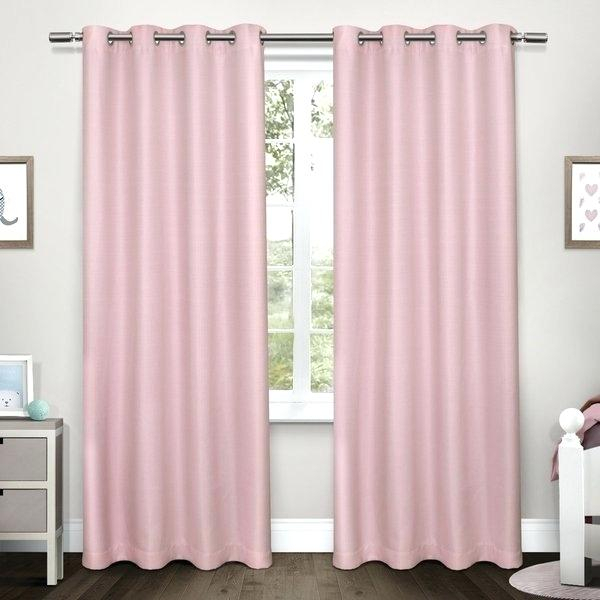 Woven Blackout Curtains – Willthompson In Woven Blackout Grommet Top Curtain Panel Pairs (Image 25 of 25)