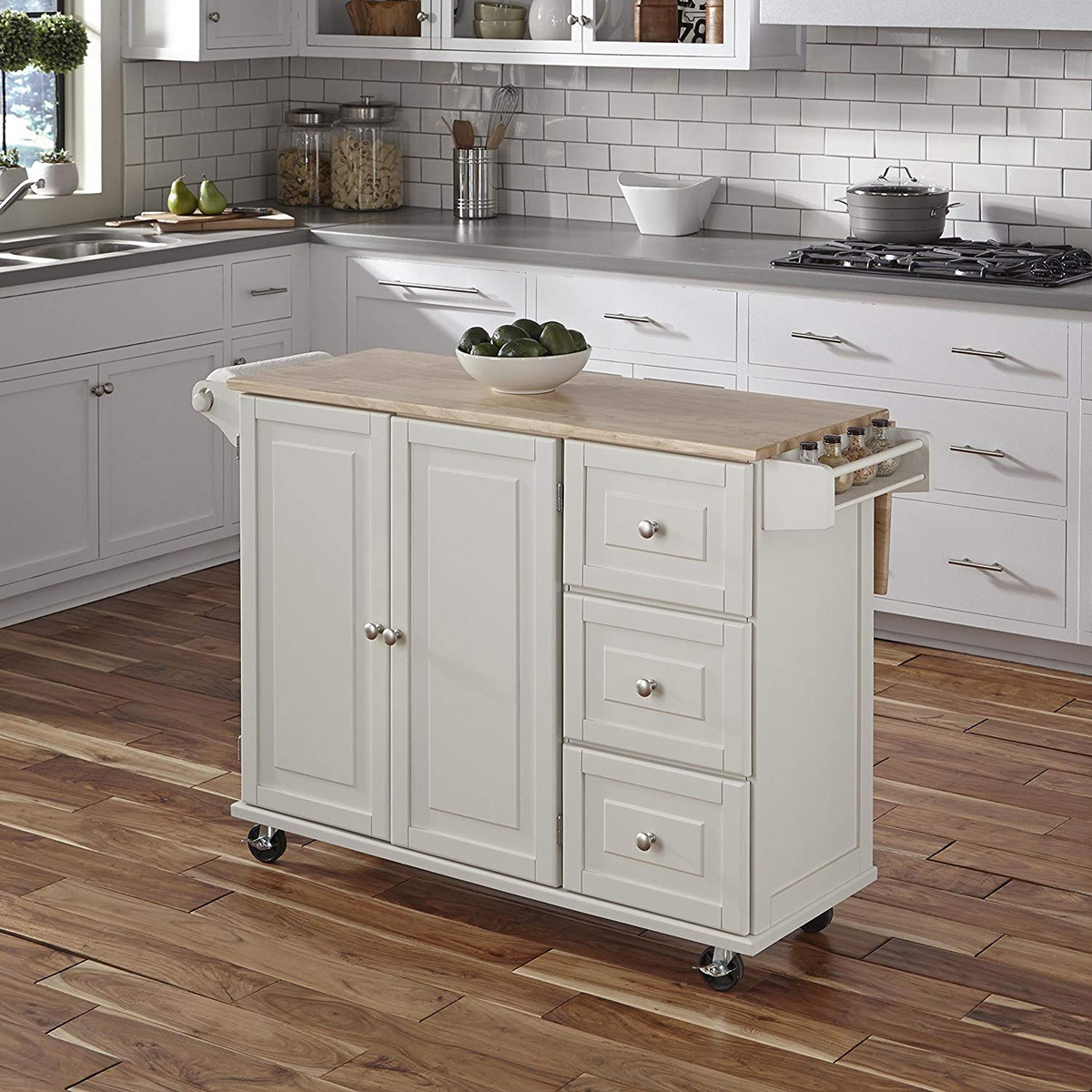 10 Best Best Kitchen Carts And Islands 2019 | The Strategist Intended For Newest Elworth Kitchen Island (View 6 of 25)