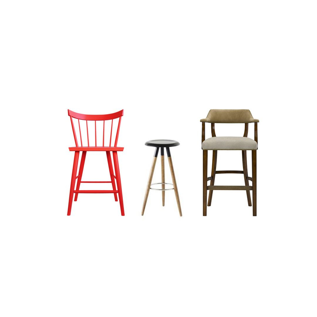 15 Best Kitchen Stools And Bar Stools – Ideas For Designer With 2018 Hearst Bar Tables (Image 1 of 25)