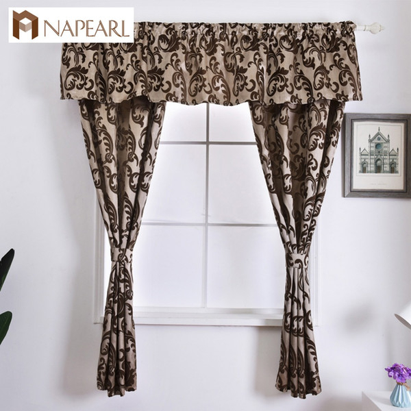 2019 Napearl Rustic Decorative Kitchen Curtain Hanging Pelmet Manufactured Sewing Drapes Window Valance And Tiers Classic Short Drops From Adeir, With Tree Branch Valance And Tiers Sets (View 6 of 25)