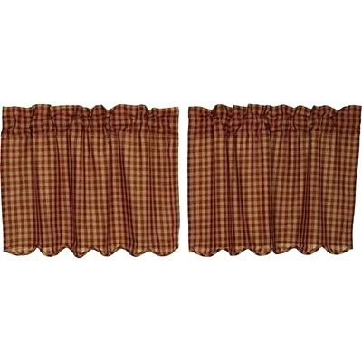 24 Inch Tier Curtains – Feriaespiritualmente Regarding Coffee Embroidered Kitchen Curtain Tier Sets (View 15 of 25)