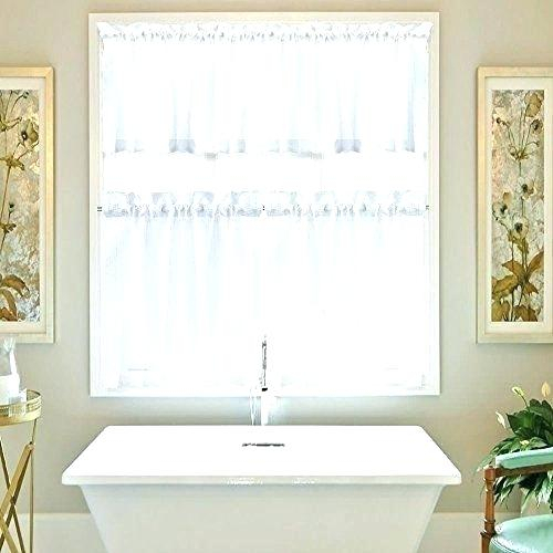 3 Tier Curtains – Visele Mele Intended For Cotton Lace 5 Piece Window Tier And Swag Sets (View 19 of 25)