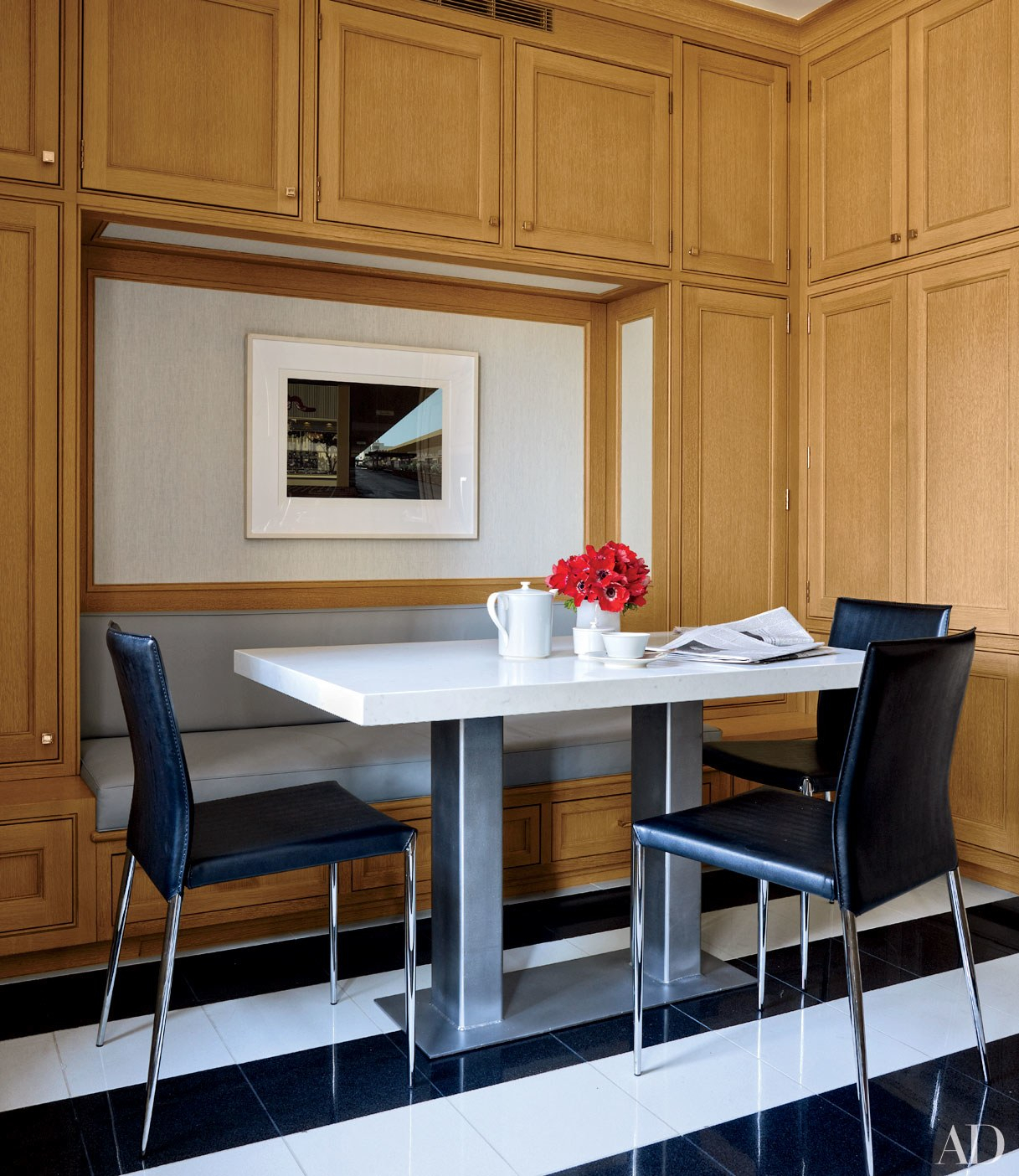 30 Breakfast Nook Ideas For Cozier Mornings   Architectural Regarding Newest Christie Round Marble Dining Tables (Photo 25 of 25)
