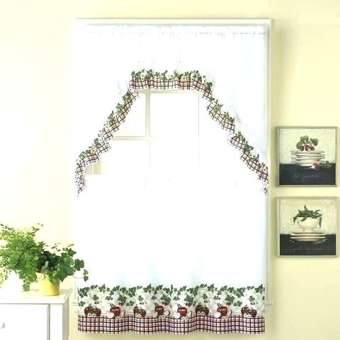 36 Inch Tier Curtains – Home Ideas For Sheer Lace Elongated Kitchen Curtain Tier Pairs (Photo 9 of 25)