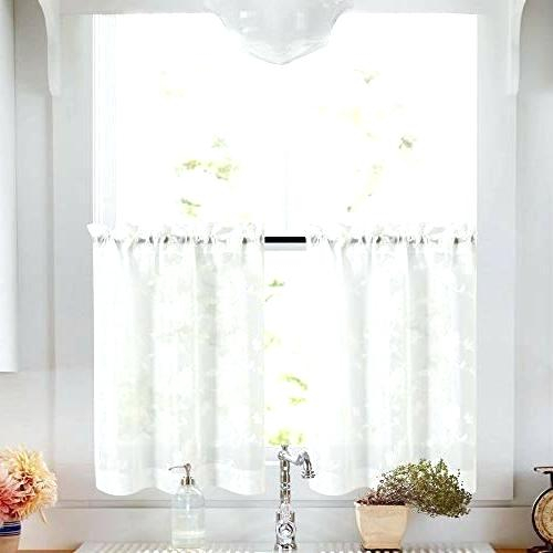 36 Length Curtains With Regard To Red Delicious Apple 3 Piece Curtain Tiers (View 10 of 25)