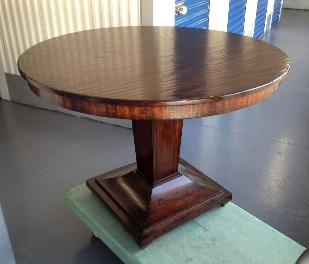 "42"" Round Pedestal Dining Table From The Acquisitions For Newest Dawson Pedestal Tables (View 12 of 25)"