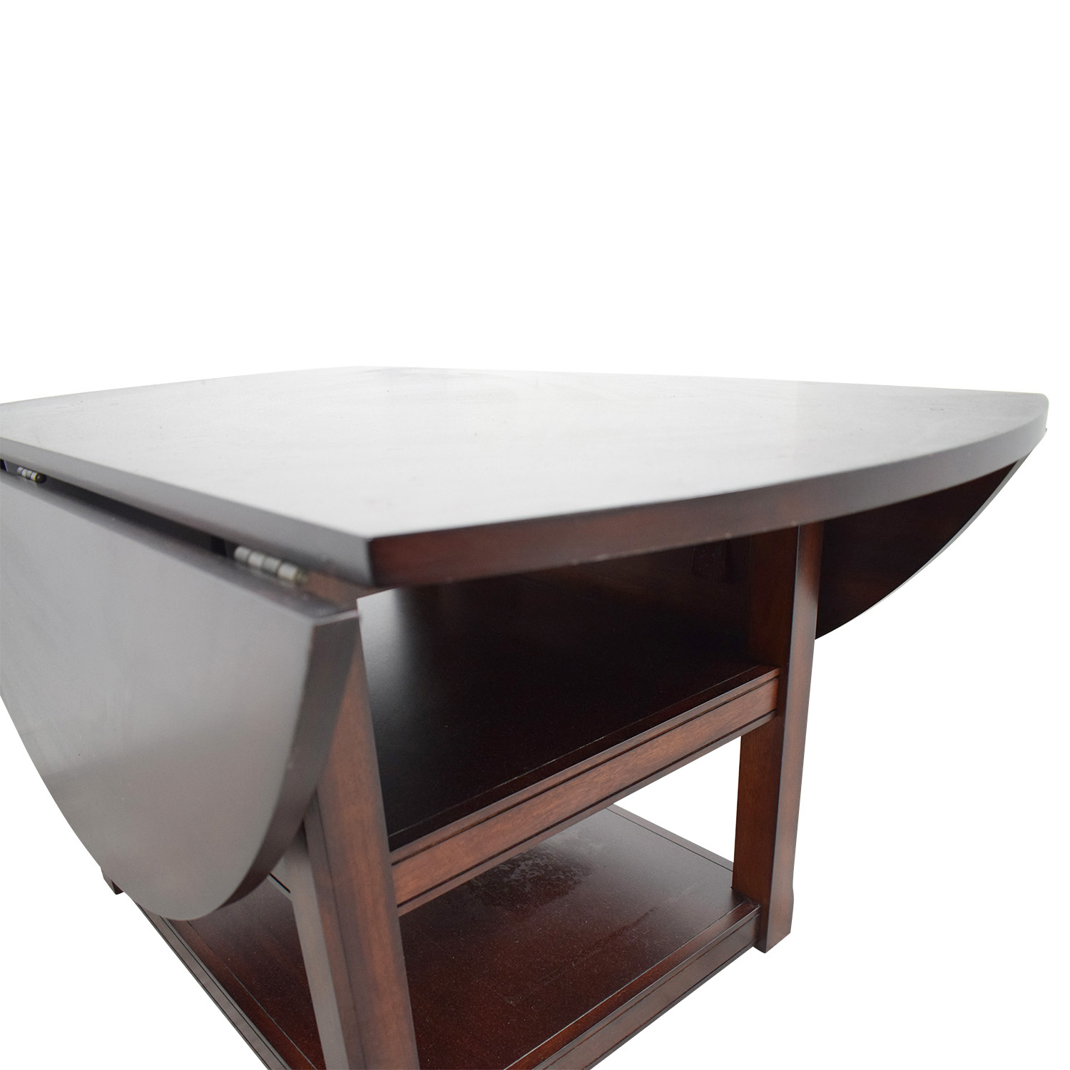 44% Off – Pottery Barn Pottery Barn Shayne Drop Leaf Kitchen Table / Tables Pertaining To Most Popular Black Shayne Drop Leaf Kitchen Tables (View 17 of 25)