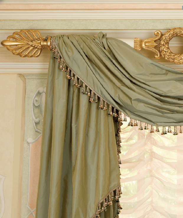 5 Ideas For Historical Home Window Treatments – Old House With Traditional Tailored Tier And Swag Window Curtains Sets With Ornate Flower Garden Print (View 24 of 25)