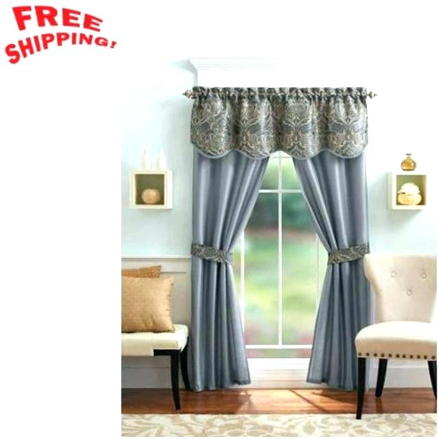 5 Piece Curtain Set – Josplaceonline For Grace Cinnabar 5 Piece Curtain Tier And Swag Sets (View 12 of 25)