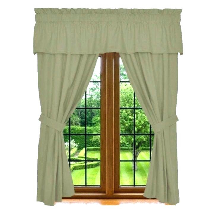 5 Piece Curtain Set – Josplaceonline Inside Grace Cinnabar 5 Piece Curtain Tier And Swag Sets (View 10 of 25)