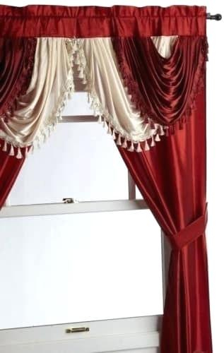 5 Piece Curtain Set – Josplaceonline Pertaining To Grace Cinnabar 5 Piece Curtain Tier And Swag Sets (View 21 of 25)