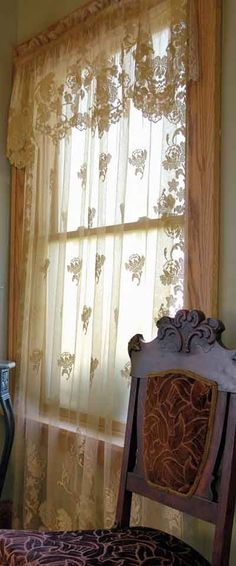 53 Best Windows Images In 2018 | Curtains, Drapes Curtains With Regard To Complete Cottage Curtain Sets With An Antique And Aubergine Grapvine Print (View 6 of 25)