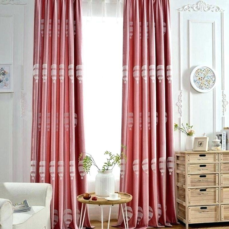6 Piece Faux Silk Window Curtain Panels Hot Pink Black For For Elegant Crushed Voile Ruffle Window Curtain Pieces (View 25 of 25)