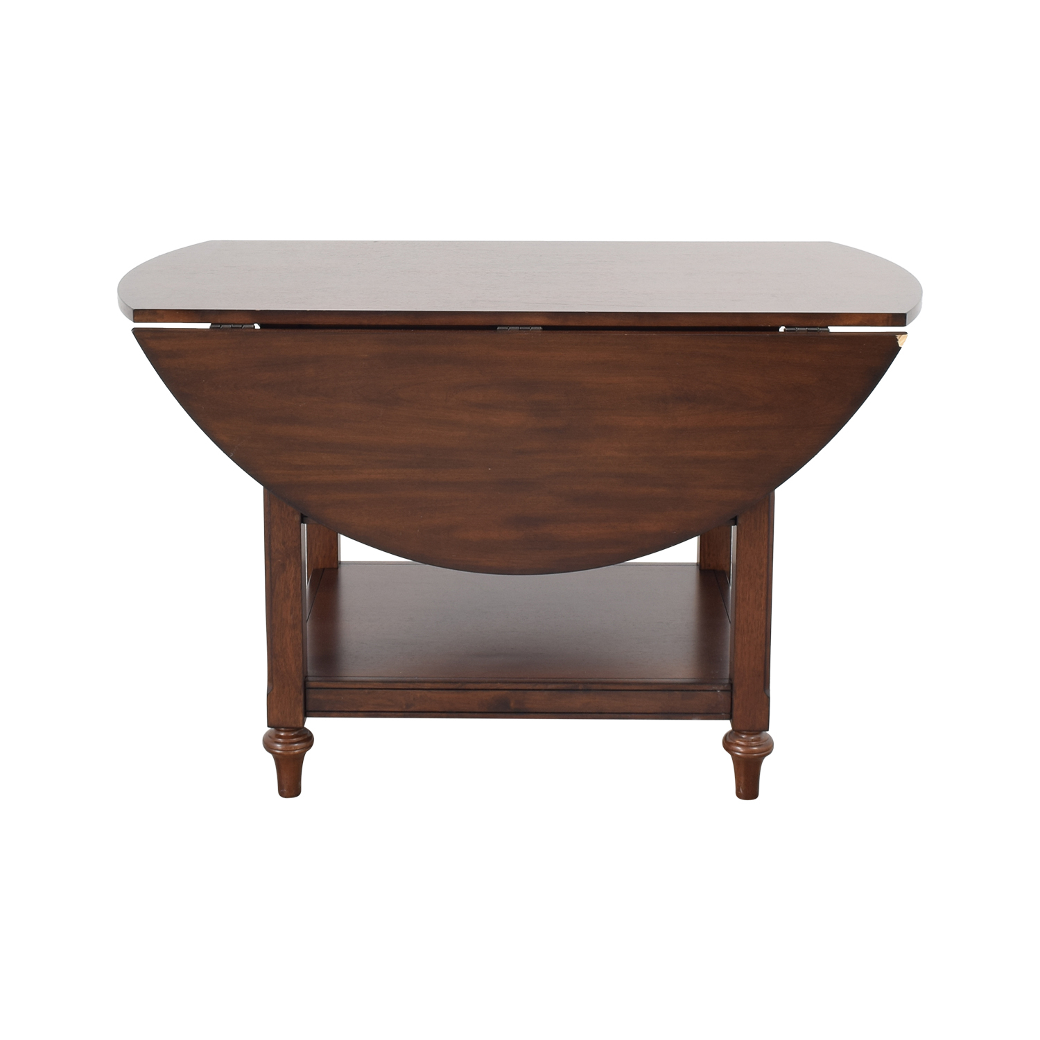 66% Off – Pottery Barn Pottery Barn Drop Leaf Kitchen Table / Tables With Newest Antique White Shayne Drop Leaf Kitchen Tables (View 20 of 25)