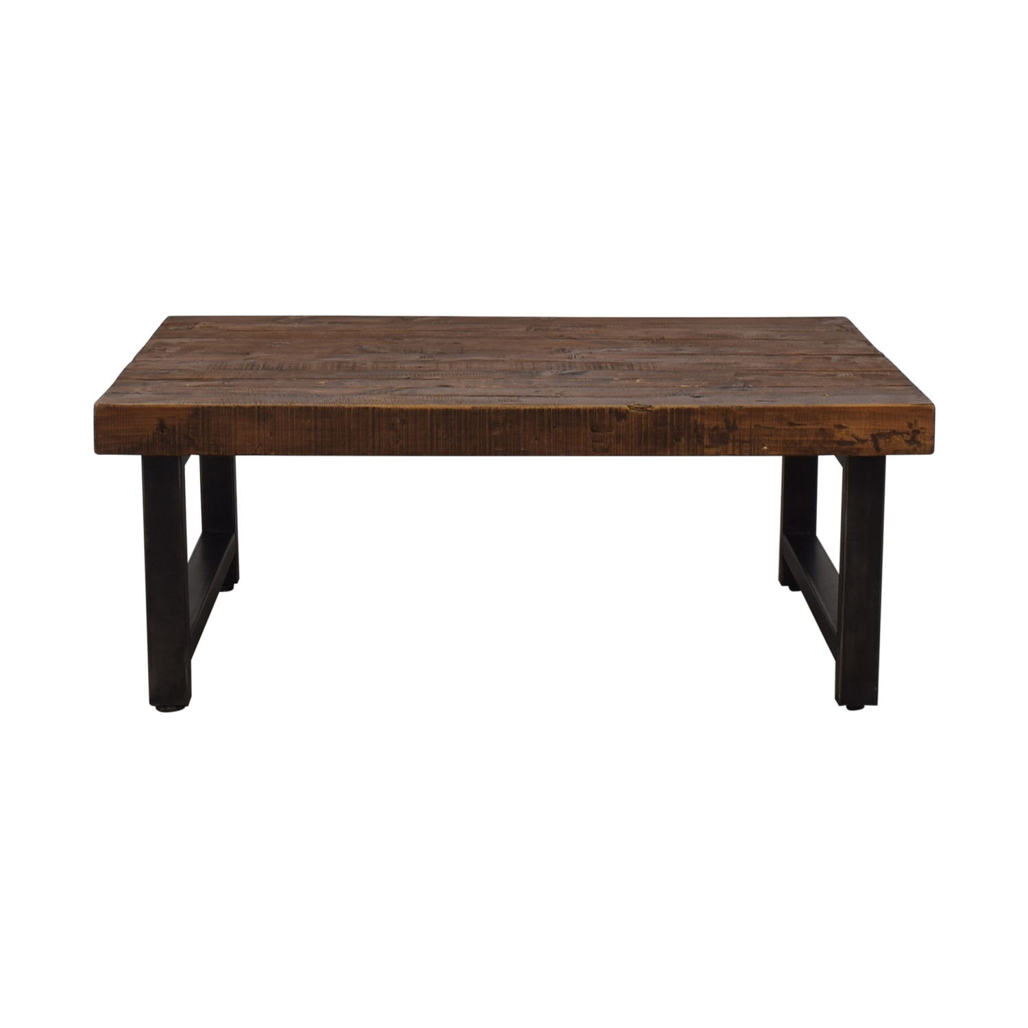 69% Off – Pottery Barn Pottery Barn Griffin Reclaimed Wood Coffee Table / Tables Within 2018 Griffin Reclaimed Wood Dining Tables (View 8 of 25)