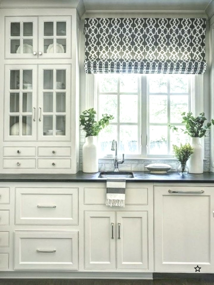 70 Beautiful Farmhouse Kitchen Curtains Decor Ideas – Best In Farmhouse Kitchen Curtains (Photo 21 of 25)