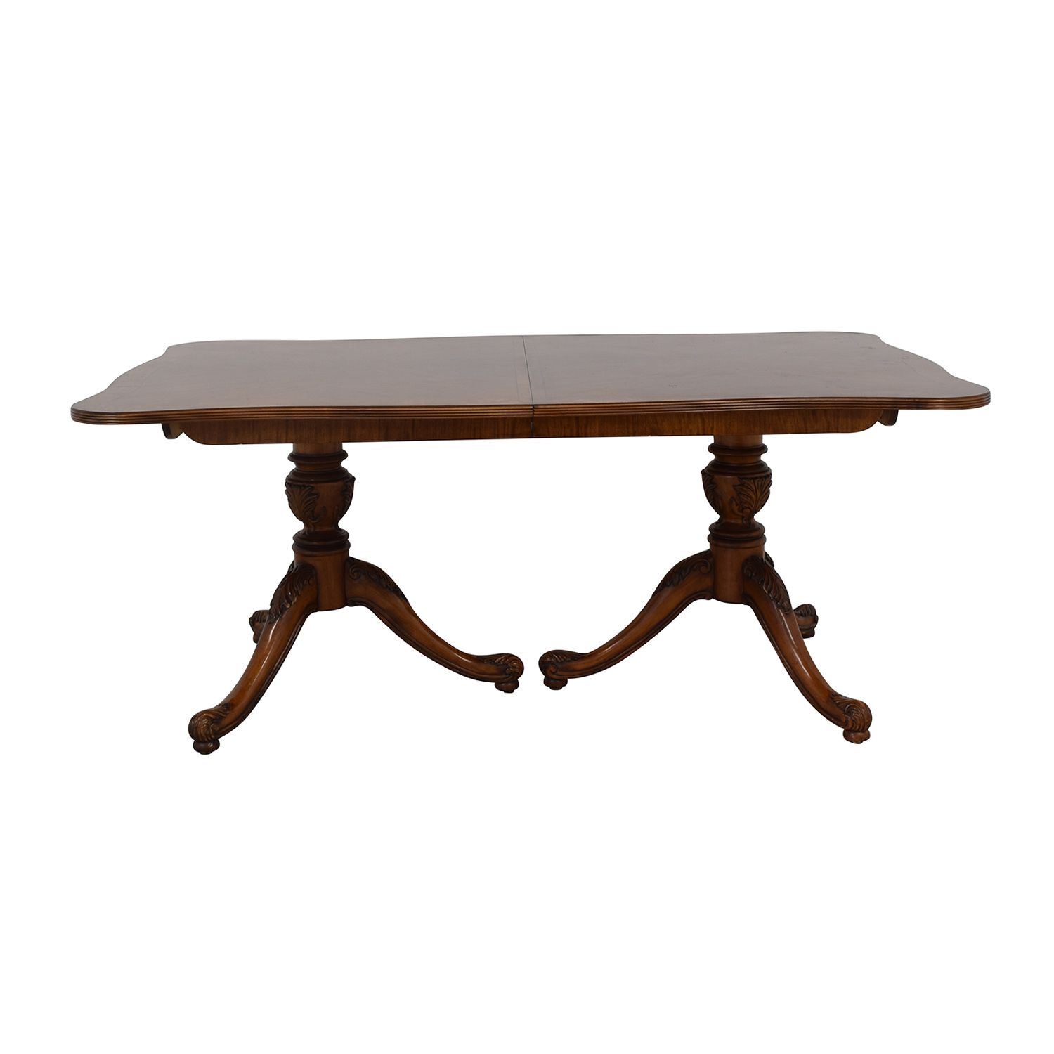 76% Off – Drexel Heritage Drexel Heritage Dining Table / Tables Pertaining To Current Mahogany Shayne Drop Leaf Kitchen Tables (Photo 18 of 25)