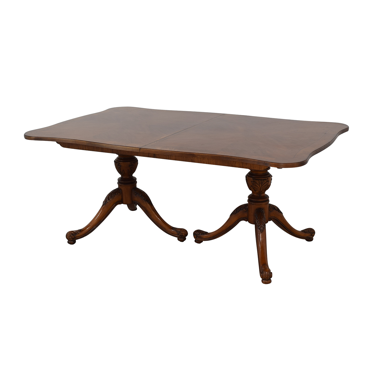 76% Off – Drexel Heritage Drexel Heritage Dining Table / Tables Within Current Mahogany Shayne Drop Leaf Kitchen Tables (Photo 16 of 25)