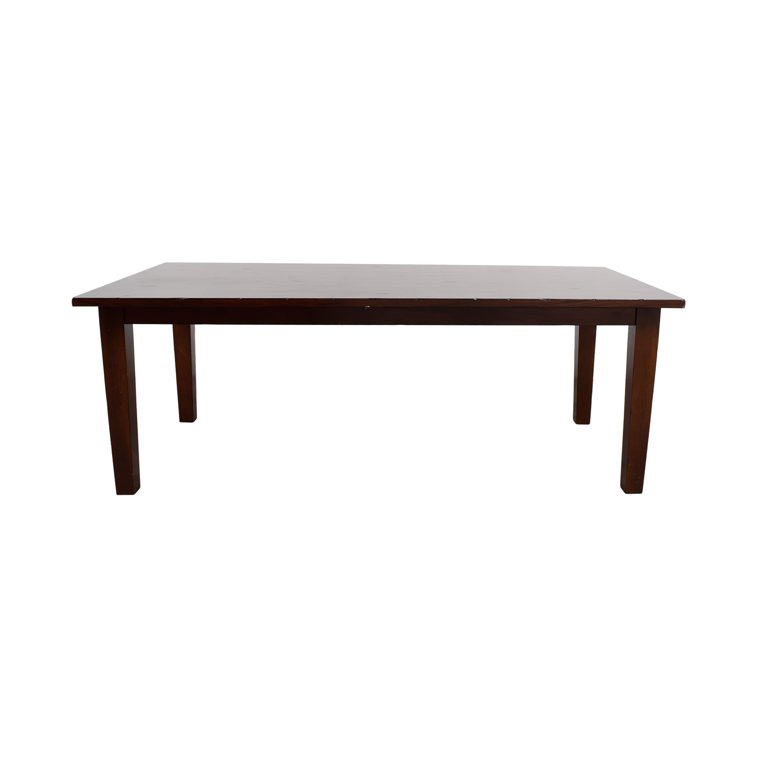 78% Off – Pier 1 Pier 1 Imports Mahogany Farmhouse Table / Tables Pertaining To Latest Mahogany Shayne Drop Leaf Kitchen Tables (Photo 23 of 25)