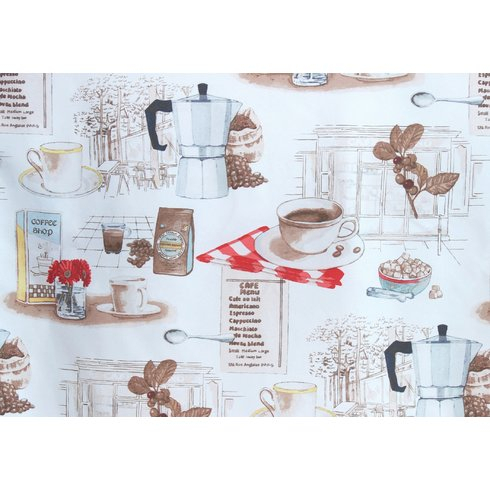 8 Adorable Coffee Themed Kitchen Curtains Under $ (View 14 of 25)
