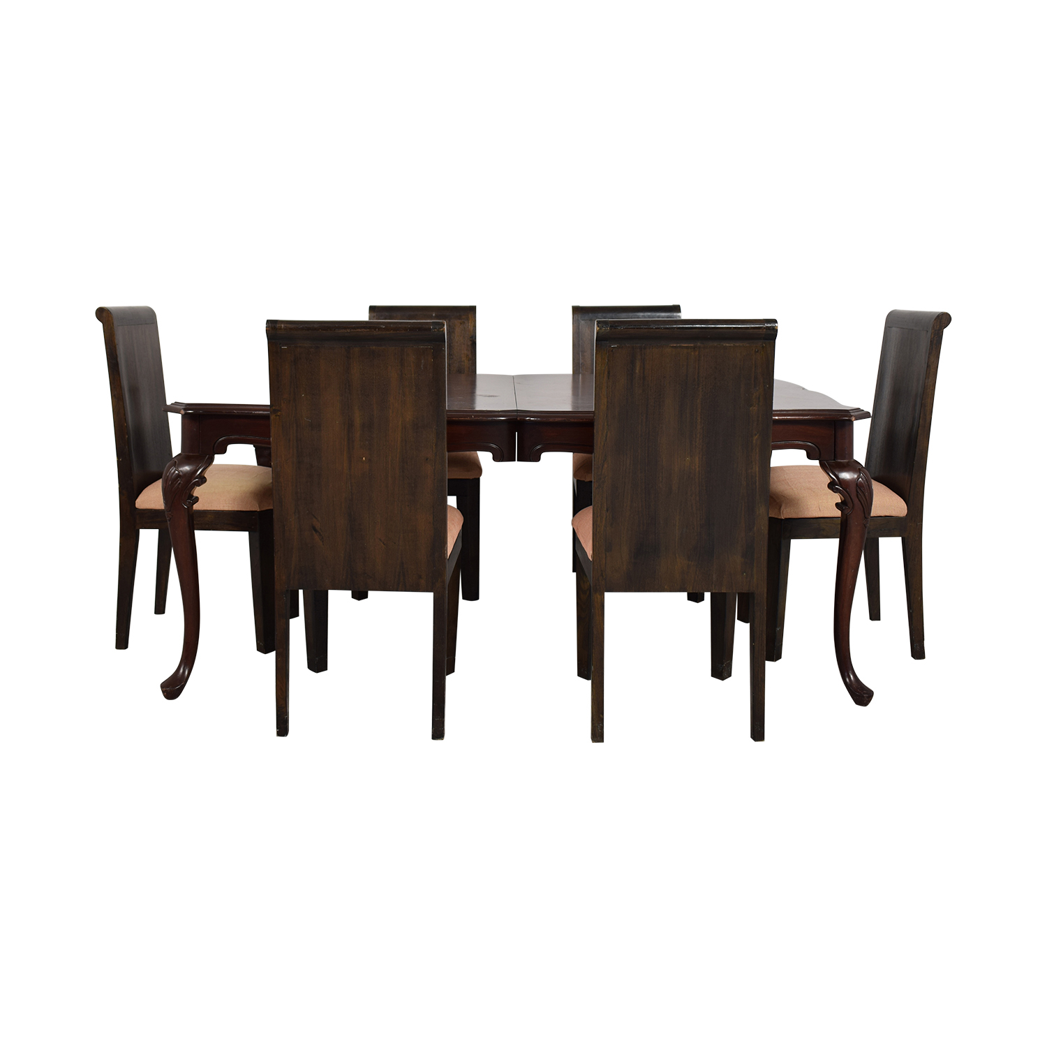 89% Off – Ethan Allen Ethan Allen Livingston Dining Set / Tables In Recent Brown Wash Livingston Extending Dining Tables (View 16 of 25)