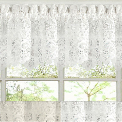 """Adirondack Cotton Kitchen Window Curtains – 12"""" X 60 Throughout Cotton Classic Toast Window Pane Pattern And Crotchet Trim Tiers (View 12 of 25)"""