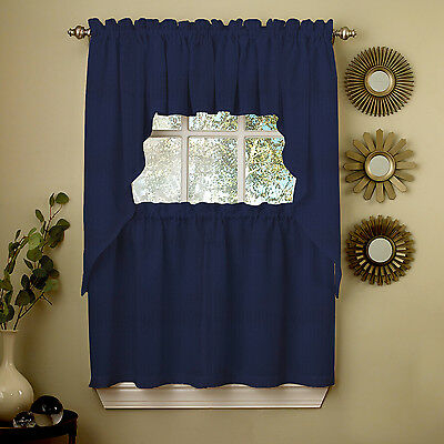 Adirondack Cotton Kitchen Window Curtains – Toast – Tiers Pertaining To Cotton Classic Toast Window Pane Pattern And Crotchet Trim Tiers (View 10 of 25)