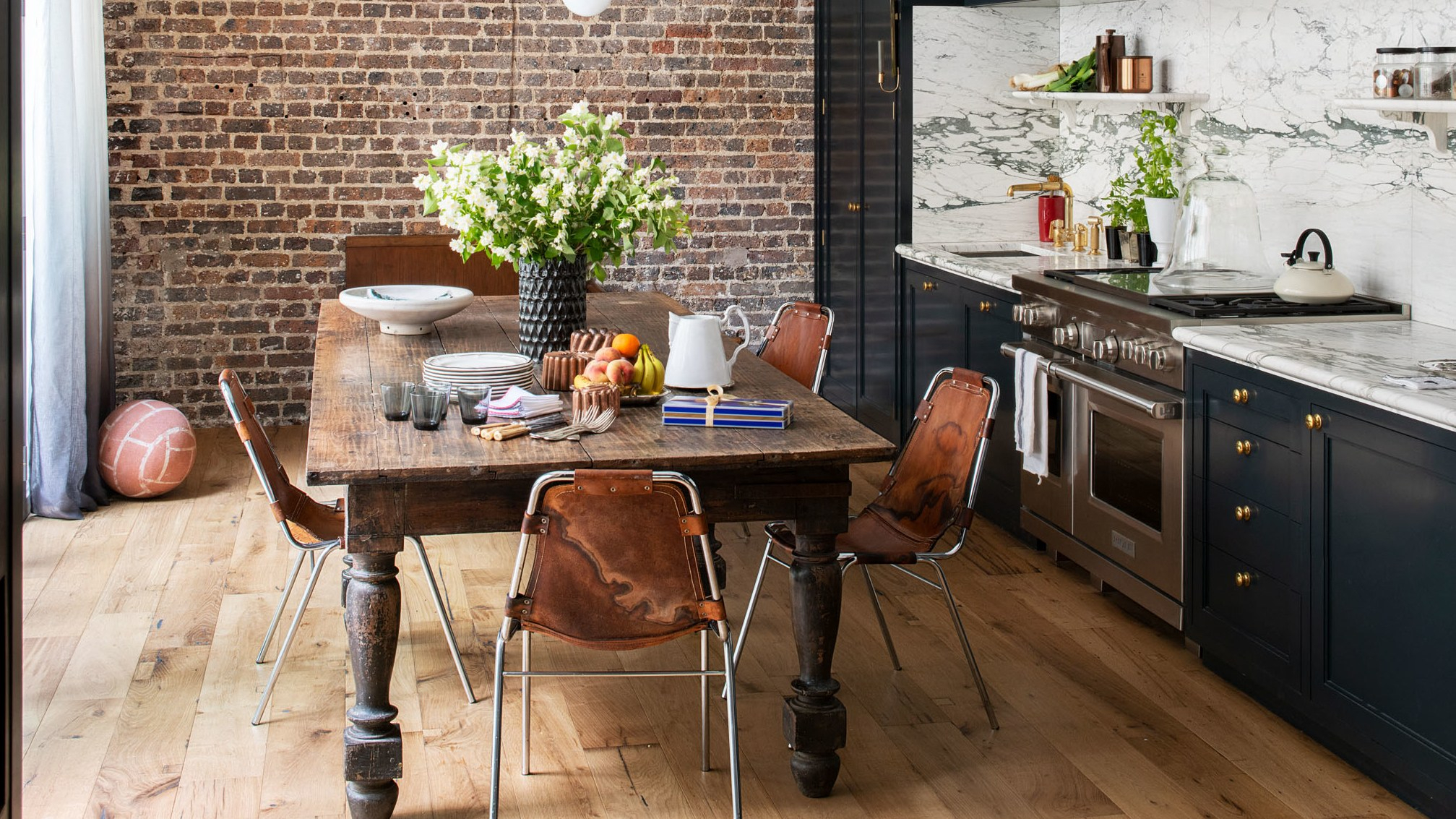 Ad's 2019 Great Design Awards: Kitchens | Architectural Digest Within 2017 Shaw Dining Tables, English Brown (View 25 of 25)