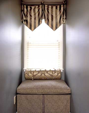 Amazing Deal On Sweet Home Collection Swag Or Valance For Maize Vertical Ruffled Waterfall Valance And Curtain Tiers (Image 3 of 25)