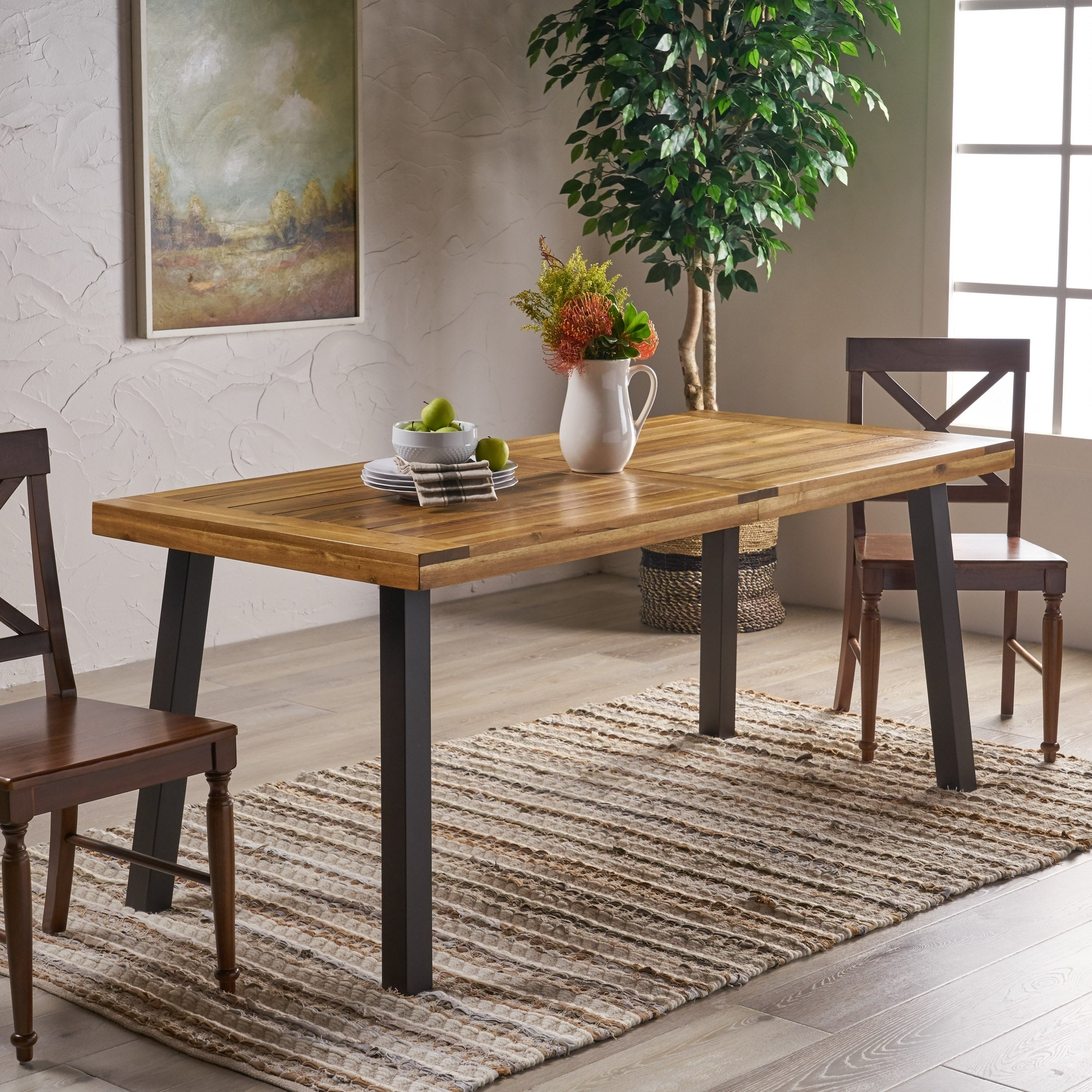 Amazon Kitchen Table – Martinique Within Most Current Salvaged Black Shayne Drop Leaf Kitchen Tables (View 14 of 25)