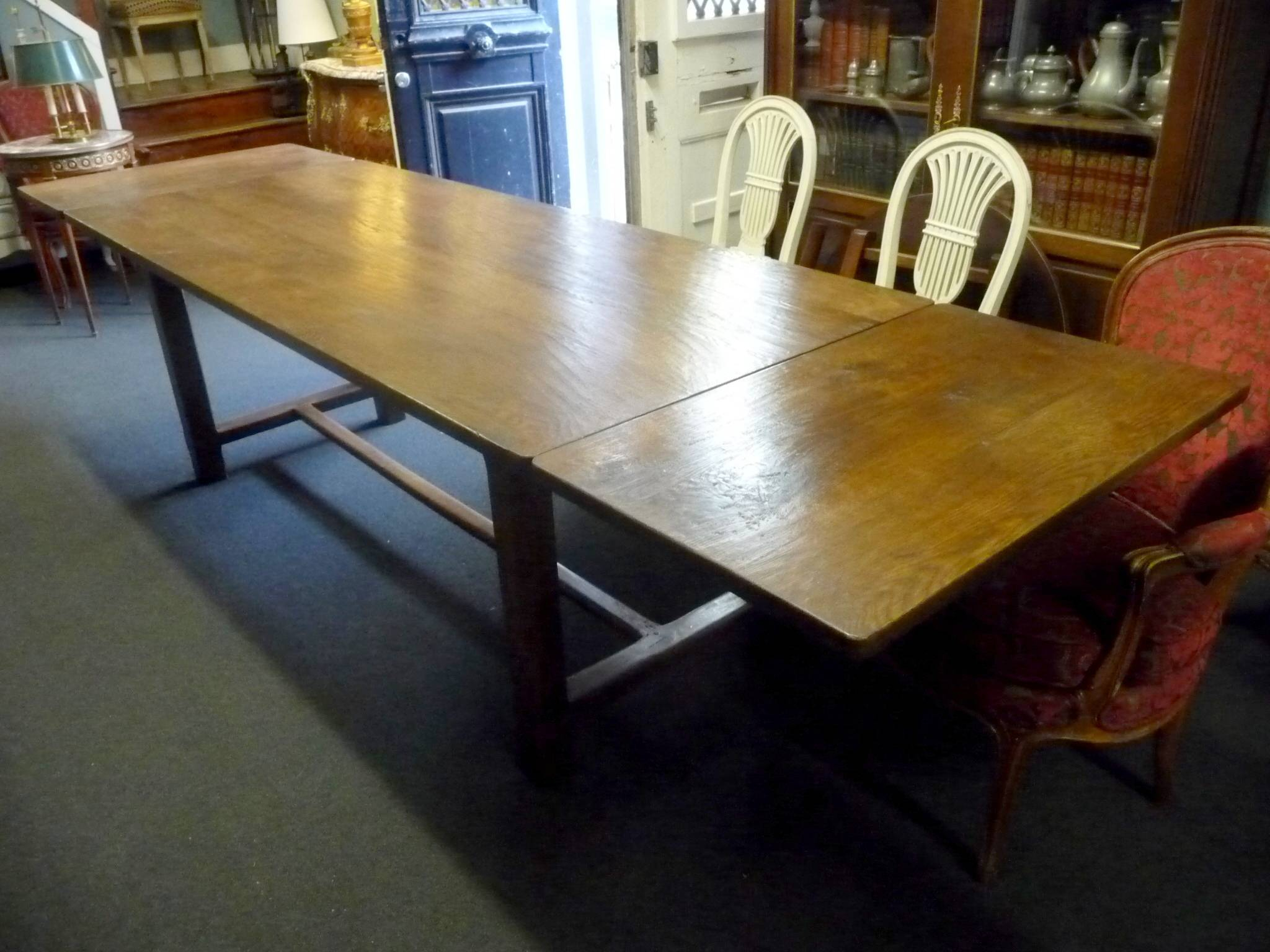 An Extending Normandy Table Pertaining To Most Recent Normandy Extending Dining Tables (View 23 of 25)