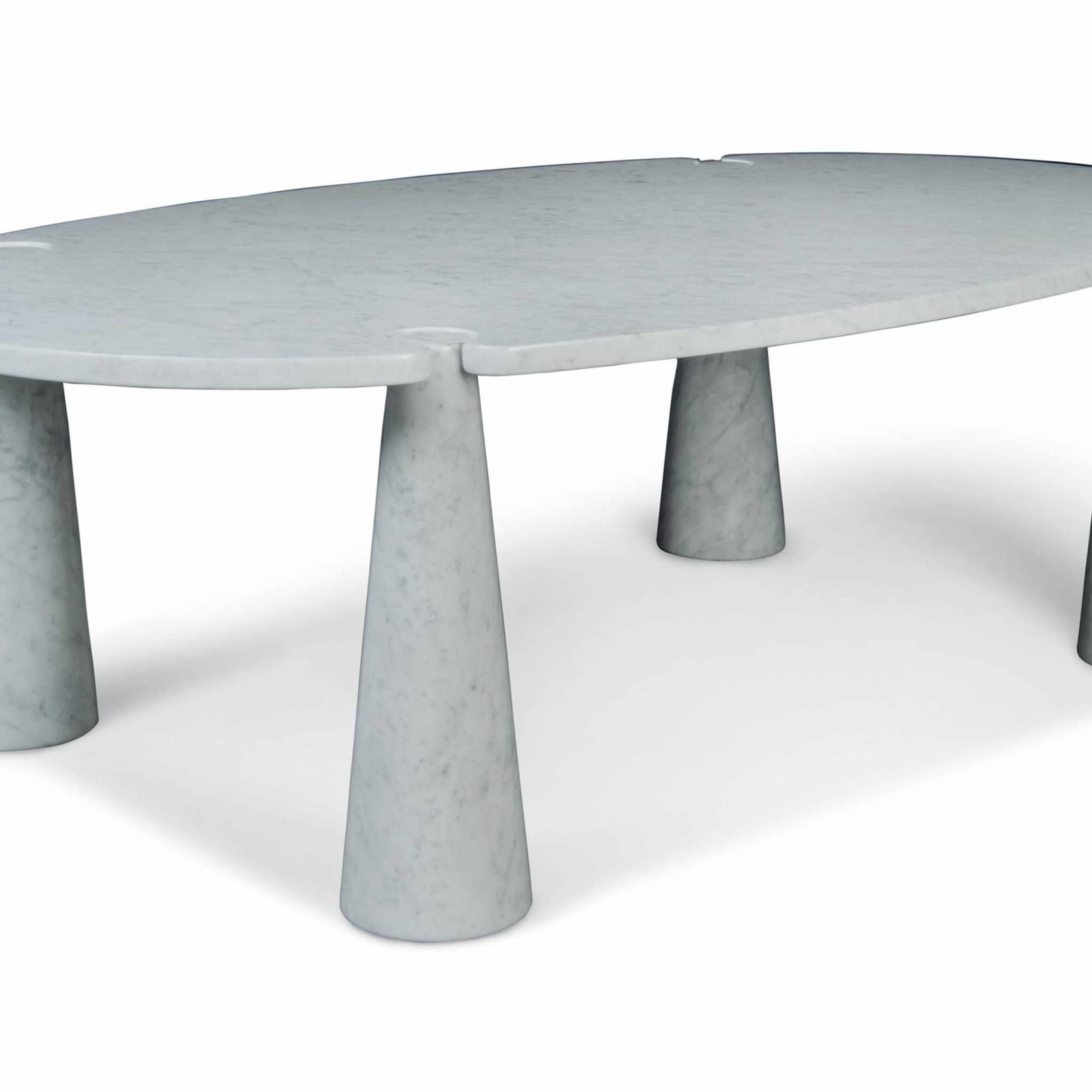 Angelo Mangiarotti (1921 2012) | An 'eros' Dining Table For Most Recent Christie Round Marble Dining Tables (View 5 of 25)