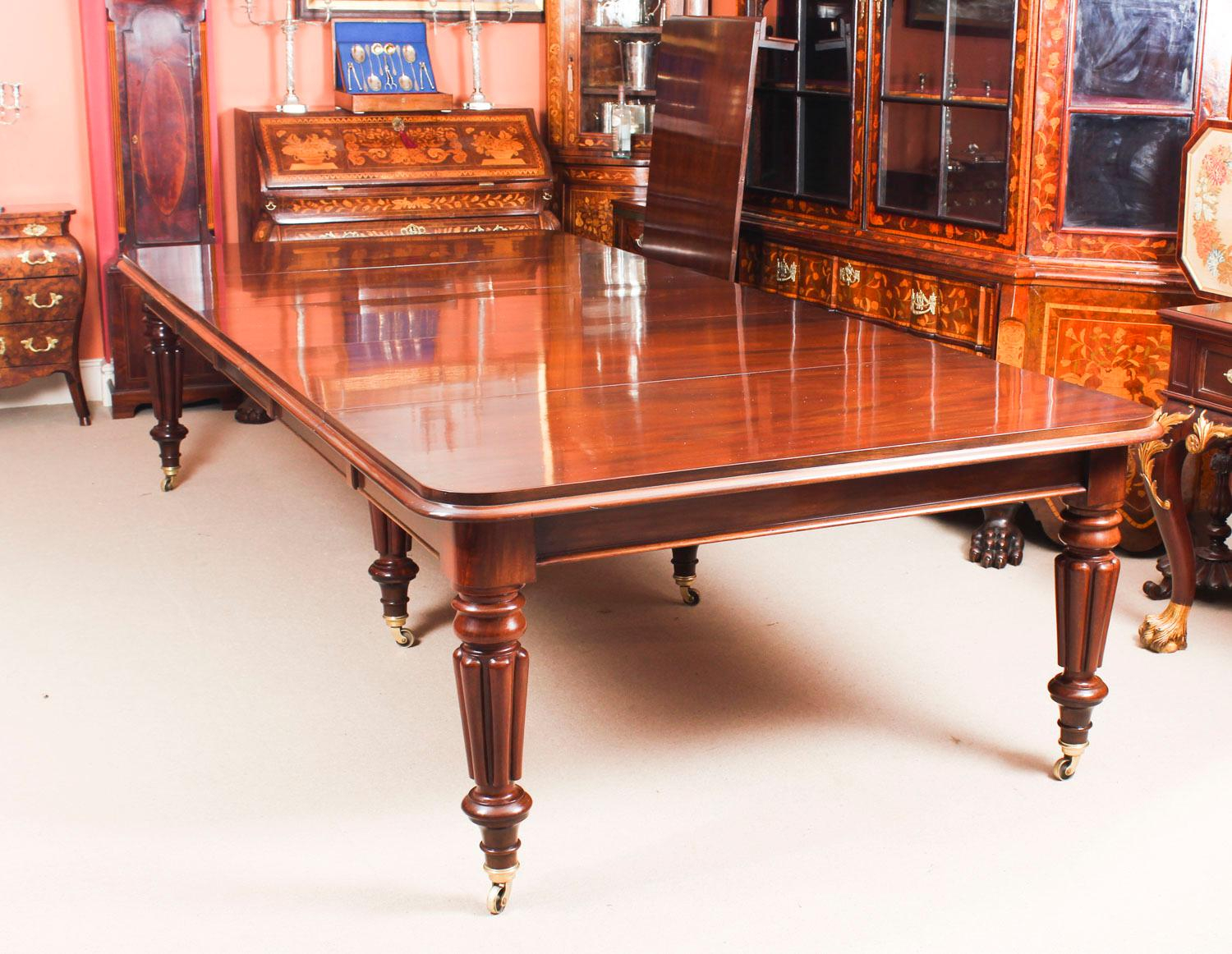 Antique William Iv Mahogany Extending Dining Table, 19Th Century Inside 2017 Rustic Mahogany Extending Dining Tables (View 20 of 25)