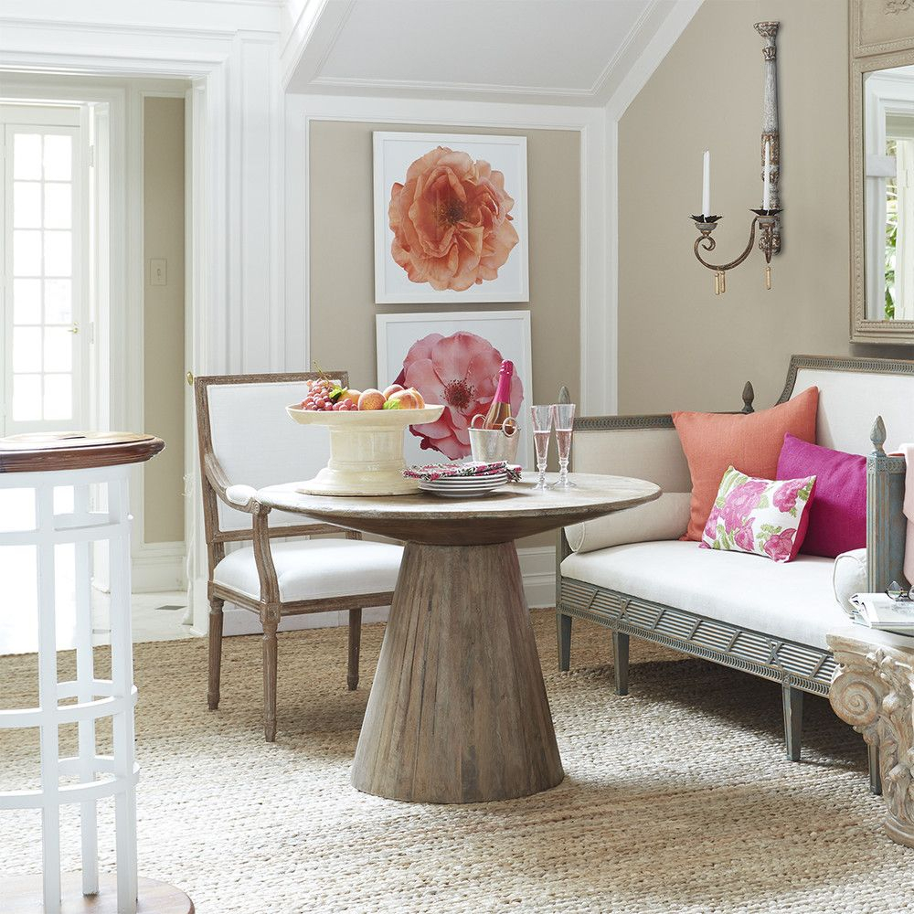 Arana Wood Dining Table | Haddock Home | Round Wood Dining For Most Recent Thalia Dining Tables (View 13 of 25)